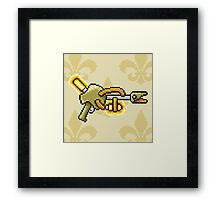 Electric Rifle Framed Print