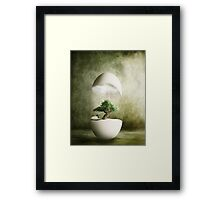 Hatching Thoughts Framed Print