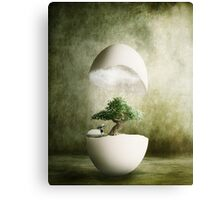 Hatching Thoughts Canvas Print
