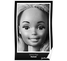Serious Toys - Portrait Poster