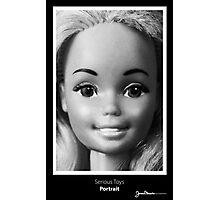 Serious Toys - Portrait Photographic Print