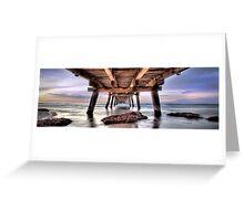 Vanishing Point Panorama Greeting Card