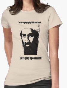 Bin Laden 1 Womens Fitted T-Shirt