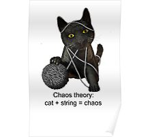 Chaos theory defined Poster