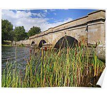 Macquarie River Bridge at Ross Poster
