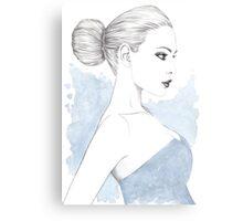 Beautiful Belle Canvas Print