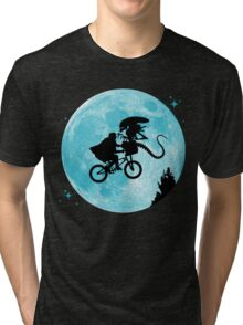 E.T. vs Aliens Tri-blend T-Shirt