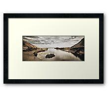 Journey's End Framed Print