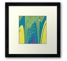 Exploring the Heart of the Flower Framed Print