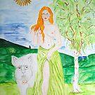 Cerridwen - Goddess of Fertility by TriciaDanby