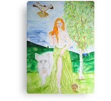 Cerridwen - Goddess of Fertility Canvas Print