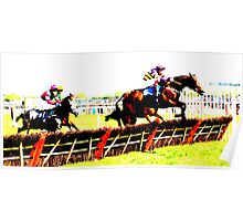 At the Races Poster