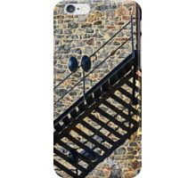 Stone Wall with Shadows iPhone Case/Skin