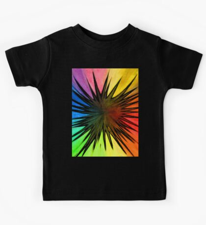"""Rainbow Splat"" Clothing Kids Tee"
