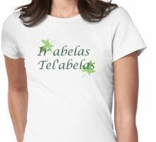 Ir abelas Tel'abelas - I'm Sorry I'm not sorry Womens Fitted T-Shirt
