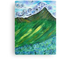 Bluebell Valley Canvas Print