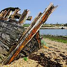 The final catch, abandoned fishing boat, Saltmills, County Wexford, Ireland by Andrew Jones