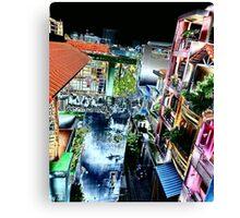 Colourful Saigon Canvas Print