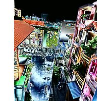 Colourful Saigon Photographic Print