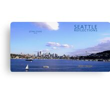 Seattle Reflections Canvas Print
