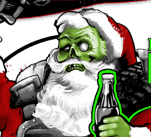 Fallout 3 Spoof Drink Cold and Refreshing Nuka Sticker