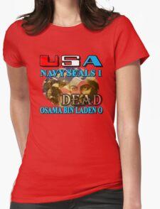 Osama Bin Laden is Dead Womens Fitted T-Shirt
