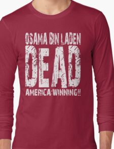 Osama is Dead - Dark Long Sleeve T-Shirt