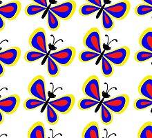 Butterflies (multiple) by chantelle bezant