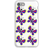 Butterflies (multiple) iPhone Case/Skin