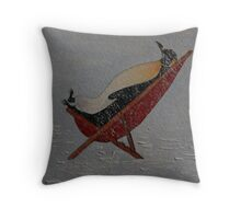 DRIFTING OFF Throw Pillow