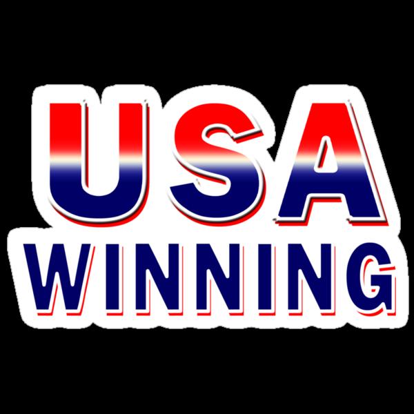 USA Winning by Marcia Rubin