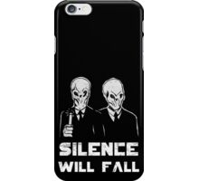 The Silence. iPhone Case/Skin