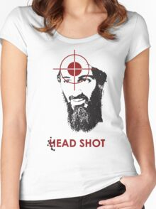 Head Shot ver. 2 Women's Fitted Scoop T-Shirt