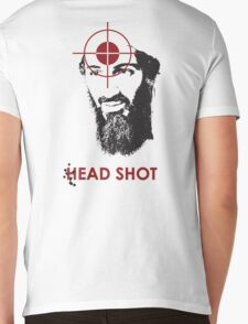 Head Shot ver. 2 (Hoodie) Mens V-Neck T-Shirt