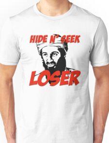 Osama Bin Laden Hide N' Seek Loser Unisex T-Shirt