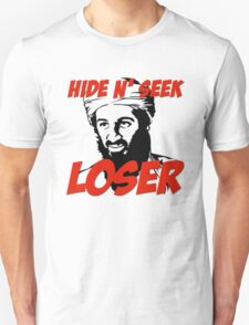 Osama Bin Laden Hide N' Seek Loser T-Shirt