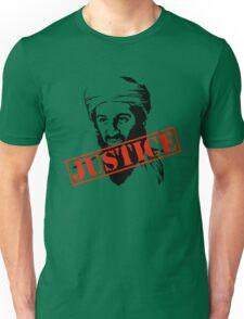 Osama Bin Laden Justice Unisex T-Shirt