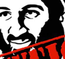 Osama Bin Laden Justice Sticker