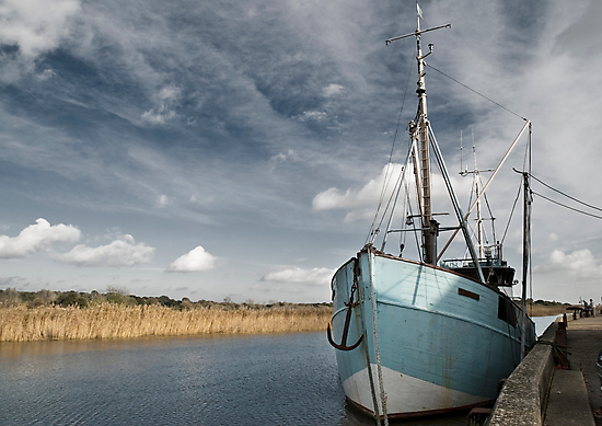 Snape Maltings Quayside- Colour by StephenRB