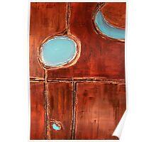 """Masai"" Original acrylic painting Poster"
