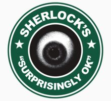 Sherlock's Coffee - Surprisingly OK! Kids Tee