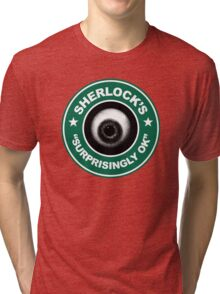 Sherlock's Coffee - Surprisingly OK! Tri-blend T-Shirt