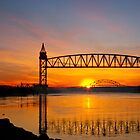 Cape Cod Canal sunrise by bettywiley