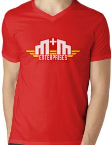 M&M Enterprises (Wings) Mens V-Neck T-Shirt