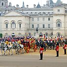 UK, England, London, Horse Guards Parade, Royal Wedding by Alan Copson
