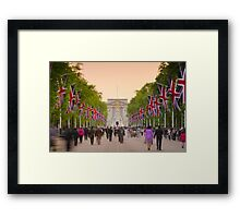 UK, England, London, Buckingham Palace, Royal Wedding Framed Print