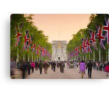 UK, England, London, Buckingham Palace, Royal Wedding Canvas Print
