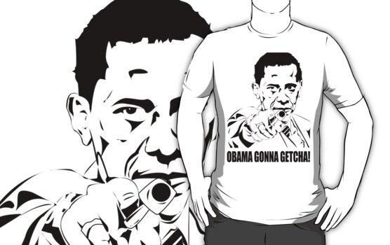 Obama gonna getcha! by mrmilkman