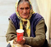 Gypsy woman by Anthony Vella