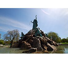 The Moses Fountain Photographic Print
